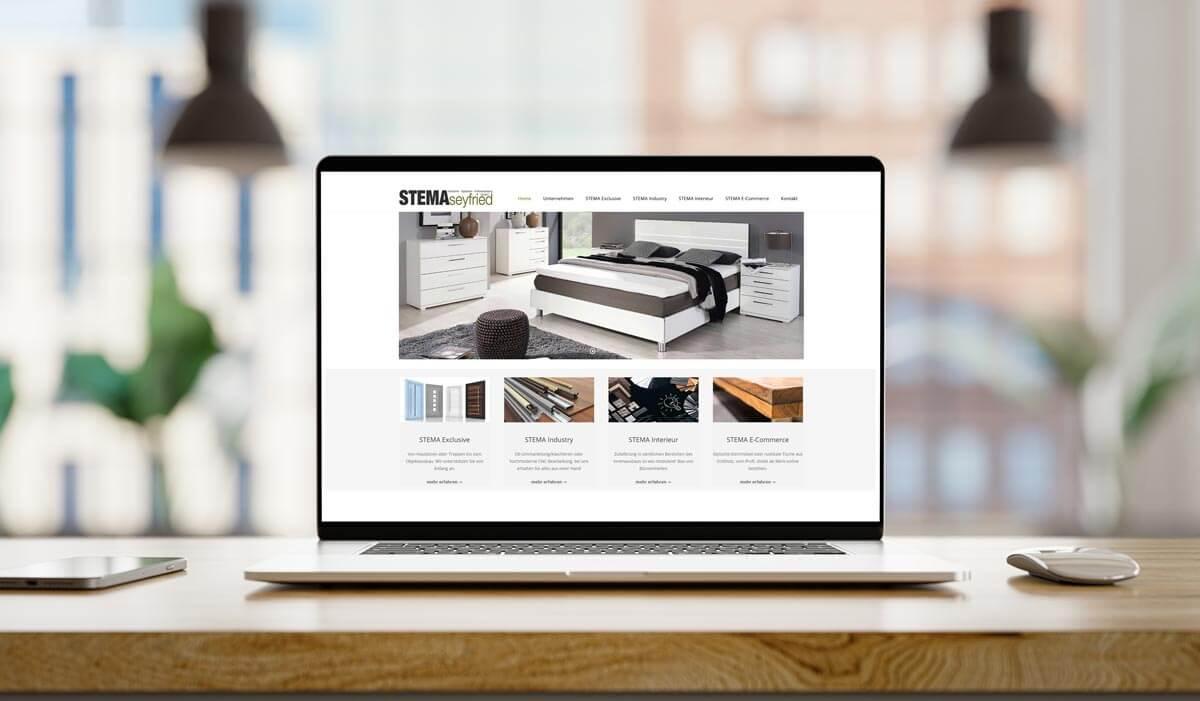 STEMA Seyfried von Webdesign Uhl